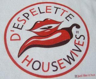 Tee shirt D'espelette housewives
