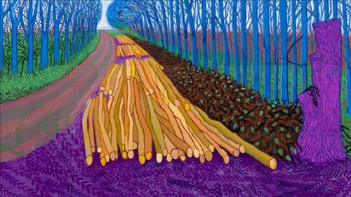 Hockney Bilbao expo