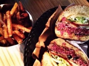 Hamburger BONHEUR Biarritz