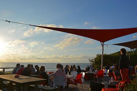les restaurants vue sur mer de la c te basque les. Black Bedroom Furniture Sets. Home Design Ideas