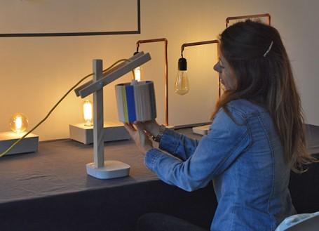 les lampes en béton de Zuri, une jolie découverte des filles en espadrilles