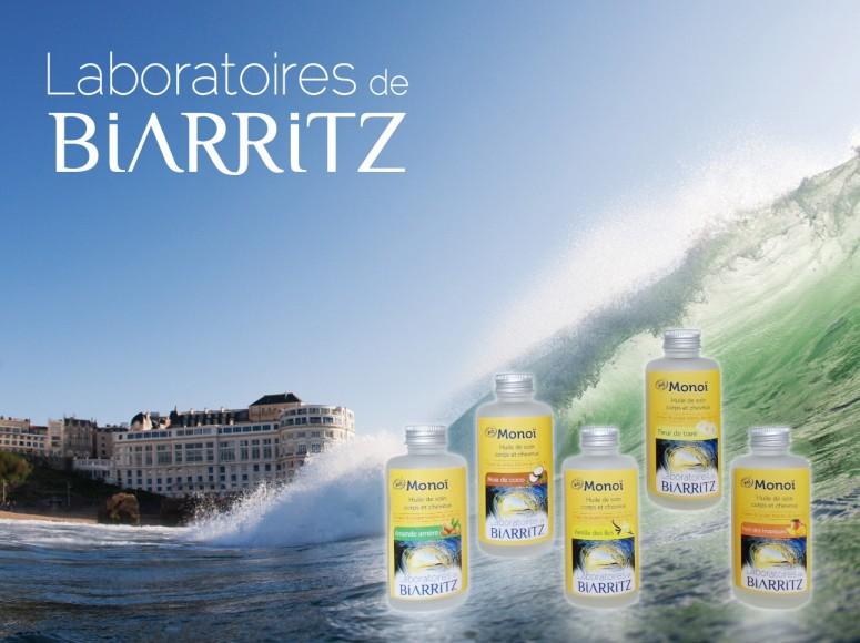 gagnez un monoï des laboratoires de biarritz sur la page Facebook des filles en espadrilles - juin 2015