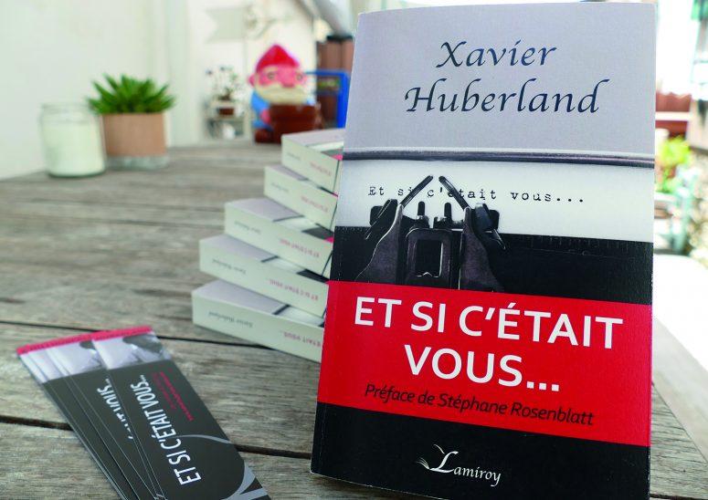 xavier huberland écrivain belge présente son nouveau roman dont l'intrigue se passe à Biarritz